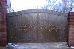 Распашные ворота РВ-12