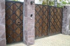 Распашные ворота РВ-5