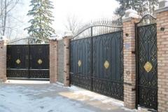 Распашные ворота РВ-9